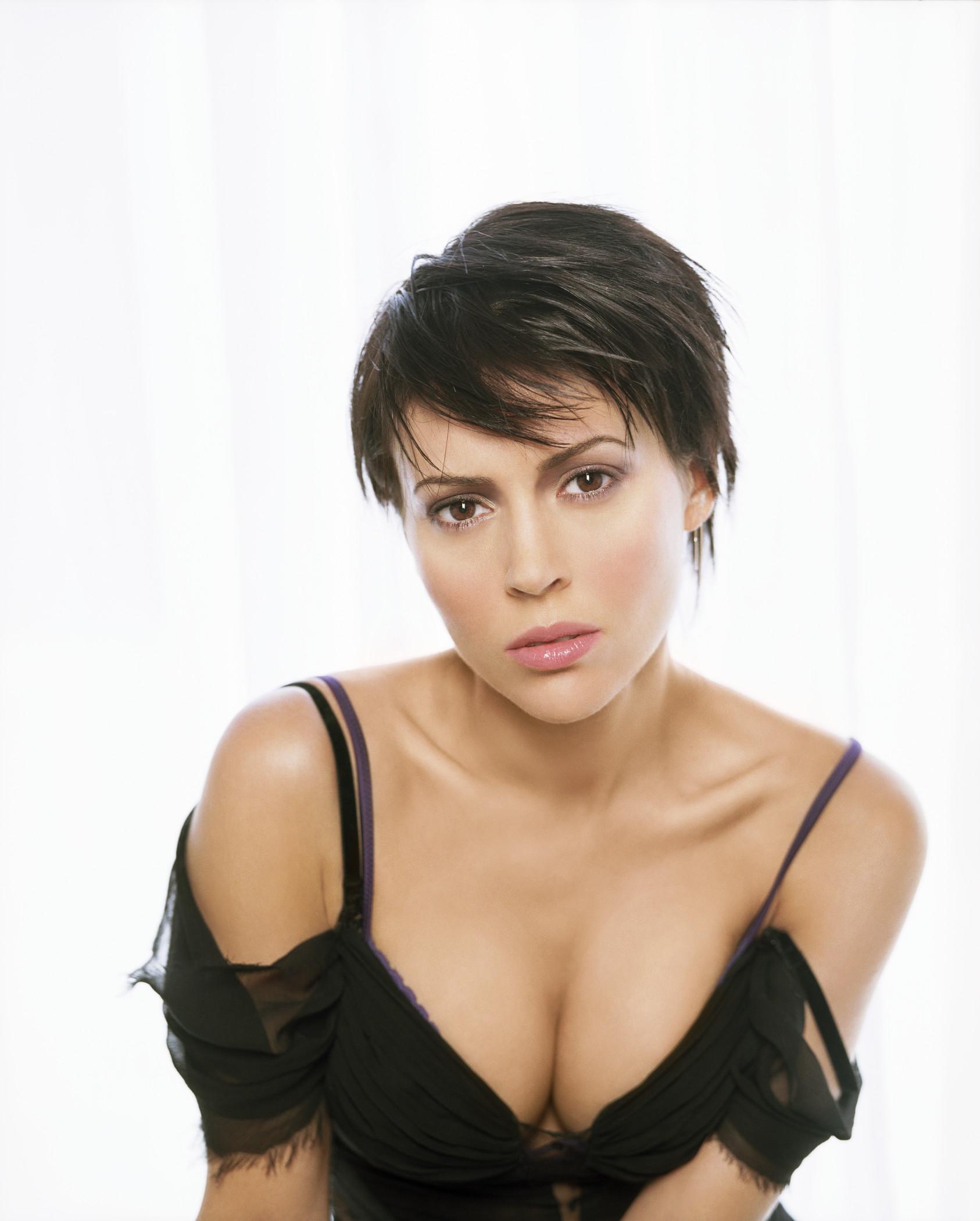 Alyssa milano embrace of the vampire slomo compilation 6
